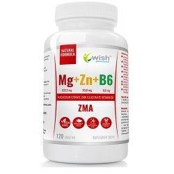 ZMA Magnez+Cynk+B6 - odporność, metabolizm, trestosteron,