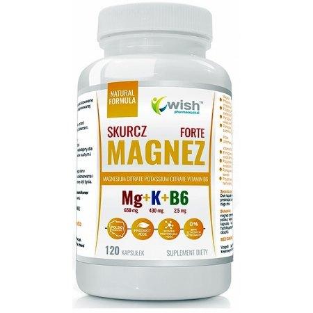 MAGNEZ SKURCZ FORTE - metabolizm, skurcze mięśni,