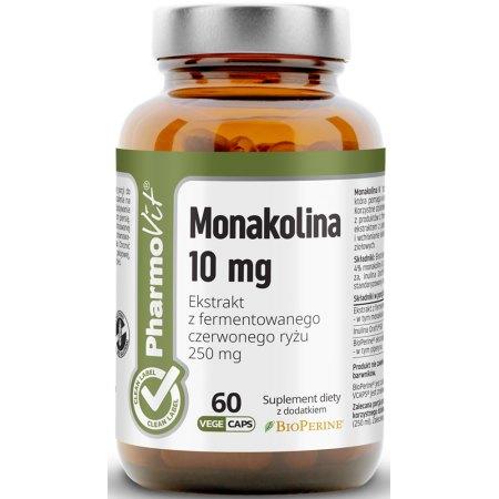 Monakolina - dla właściwego poziomu cholesterolu.