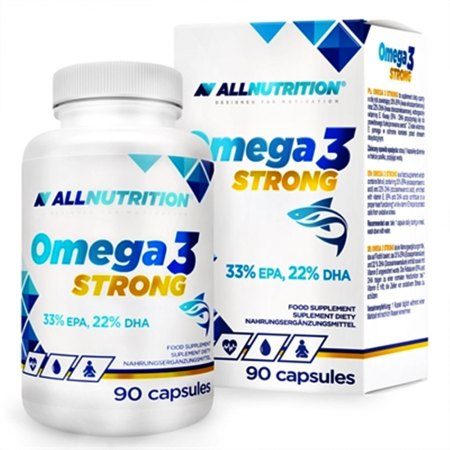 Omega 3 STRONG wsparcie układu krążenia i mózgu