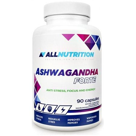 ASHWAGANDHA FORTE -dla zmniejszenia stresu , poprawy witanolści, zrównoważenia emocji