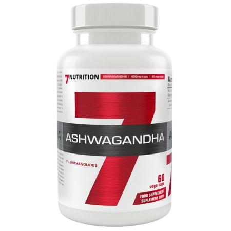 7Nutrition ASHWAGANDHA -poprawa wydolności organizmu, funkcje poznawcze,regeneracyjna