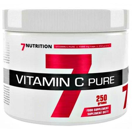 7Nutrition VITAMIN C dla sportowców- odporność-wytwarzanie kolagenu