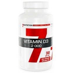 7Nutrition VITAMIN D3 2000 - kości, hormony, odporność, mięśnie