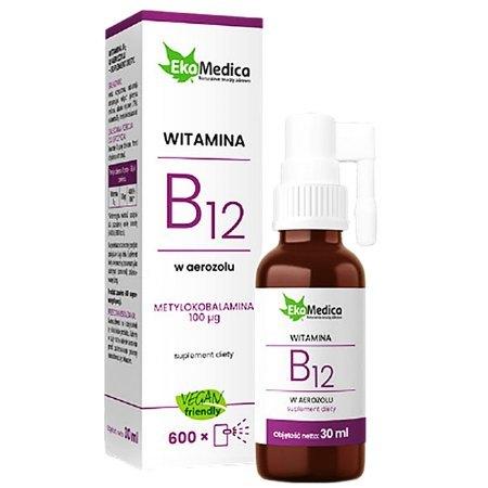 Witamina B12 w aerozolu - dba o układ nerwowy , uspakaja emocje