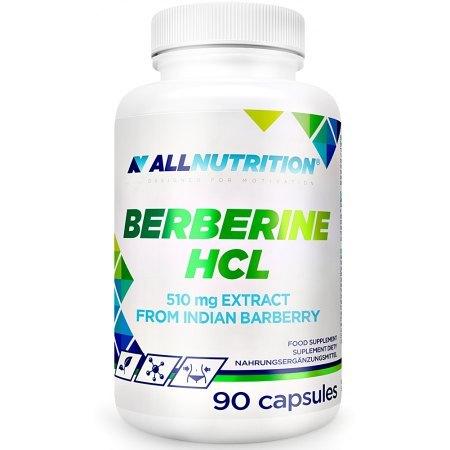 ALLNUTRITION BERBERINE HCL obniża poziom glukozy, odchudzanie