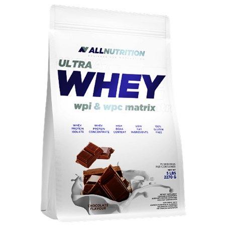 ALLNUTRITION ULTRA WHEY - koncentrat i izolat białka serwatki.- masa mięśniowa, regeneracja po treningu