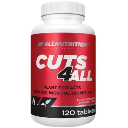 """ALLNUTRITION CUTSA4ALL """"spalacz tłuszczu""""- nie podnosi ciśnienia krwi"""