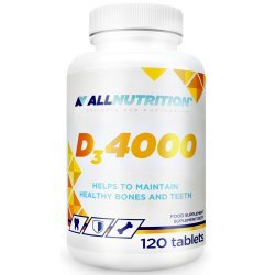 ALLNUTRITION D3 4000 - kości, zęby, odporność, hormony