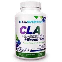 ALLNUTRITION CLA + L-CARNITINE + GREEN TEA - odchudzanie, spalanie tkanki tłuszczowej