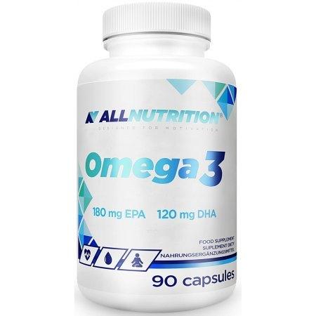 ALLNUTRITION OMEGA 3 - dla serca, mózgu, układu krążenia
