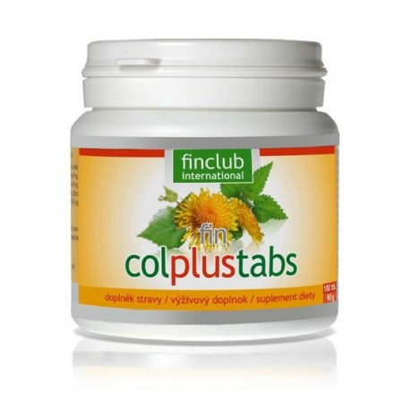 fin Colplustabs-180 tabletek-pomoc dla wątroby-jelit-dróg moczowych
